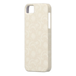 Subtle Cream Dandelion Floral iPhone 5 Case
