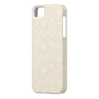 Subtle Cream Dandelion Floral iPhone 5 Case