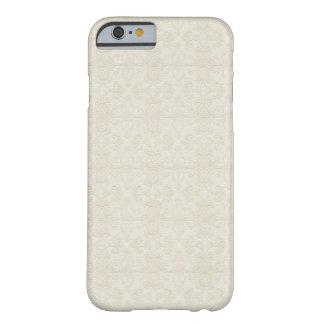 Subtle Ornate Damask Textured iPhone 6 case