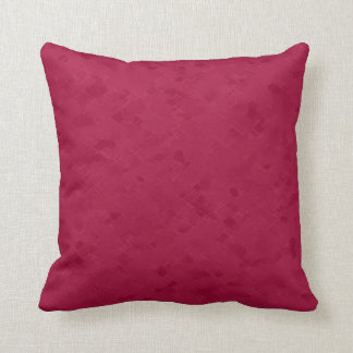 Subtle Rose Red Pattern Cushion