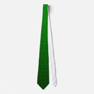 Subtle shamrock pattern green St Patrick's day Tie