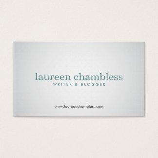 SUBTLE SPOTLIGHT No. 6 Designer Business Card