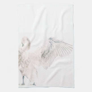 subtle swan towel