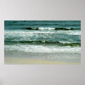 Subtle Waves Poster