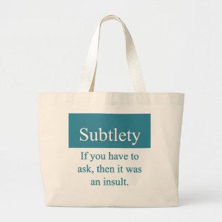 Subtlety Bag
