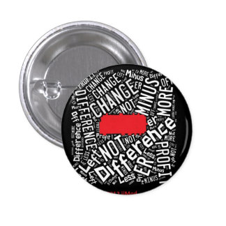 SUBTRACT Code Words 3 Cm Round Badge