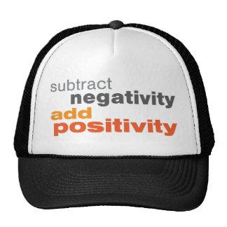 Subtract Negativity and Add Positivity Cap