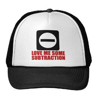 Subtraction 2 Red Cap