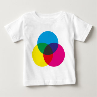 Subtractive Color Mixing Chart Baby T-Shirt