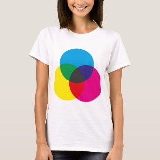 Subtractive Color Mixing Chart T-Shirt