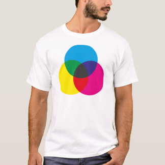 Subtractive Color Mixing Chart T-Shirt