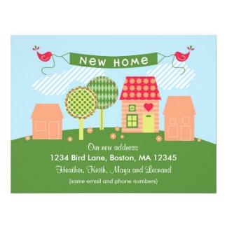 Suburb New Home Card Personalized Invite
