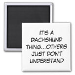 Suburban Chicagoland Dachshund Lovers Magnets