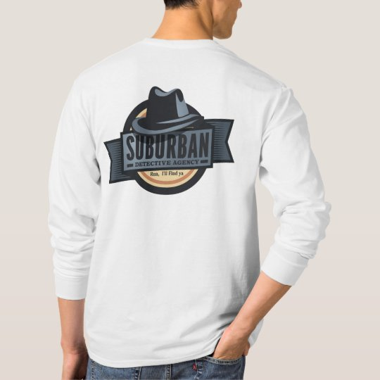 Suburban Detective Agency Long Sleeve T-shirt