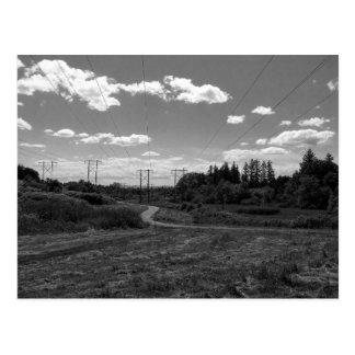 Suburban Multi-Use Path Postcard