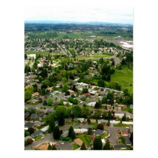 Suburban Postcard