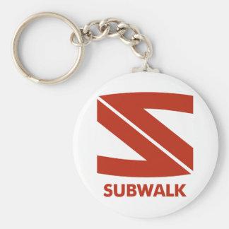 Subwalk Vampires Basic Round Button Key Ring