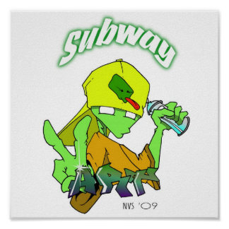 subway art posters