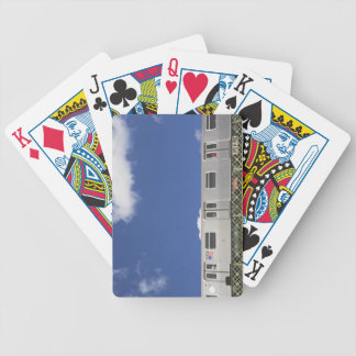 Subway Cars Bicycle Playing Cards