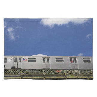 Subway Cars Placemat