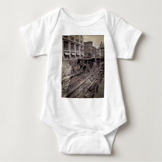 Subway Excavation Seventh Ave and 24-25th NYC Tee Shirt