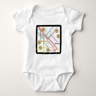 Subway Map T-shirt