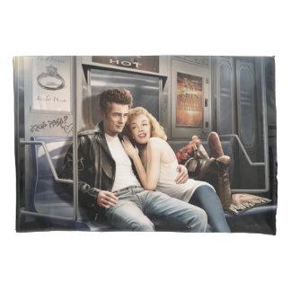 Subway Riders 2 Pillowcase