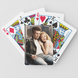 Subway Riders Bicycle Playing Cards