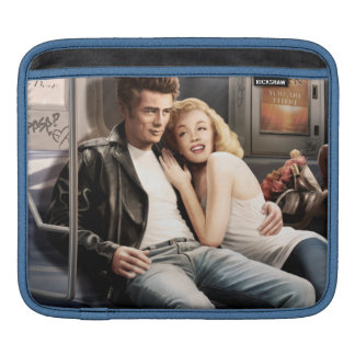Subway Riders iPad Sleeve
