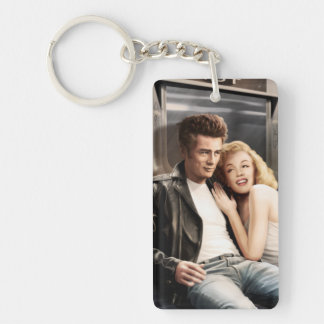 Subway Riders Key Ring