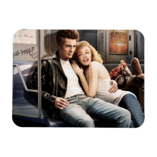 Subway Riders Magnet
