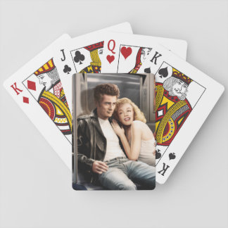 Subway Riders Playing Cards