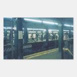 Subway Station Sticker