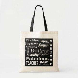 Subway Teacher Art Styled  Bag