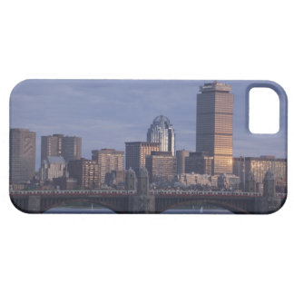Subway trains on The Longfellow Bridge over The iPhone 5 Covers