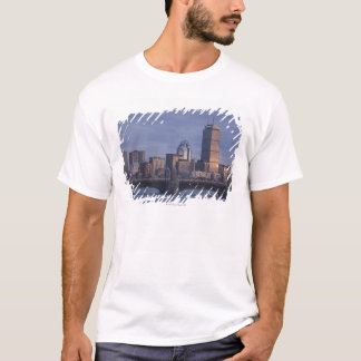 Subway trains on The Longfellow Bridge over The T-Shirt