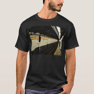Subway tunnel with tile wall T-Shirt