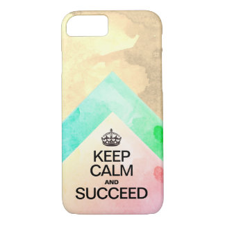 Succeed Colorful Watercolor layers iPhone 8/7 Case