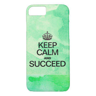 Succeed Colorful Watercolor Texture greens iPhone 8/7 Case
