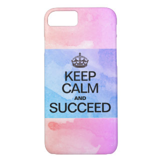Succeed Colorful Watercolor Texture iPhone 8/7 Case