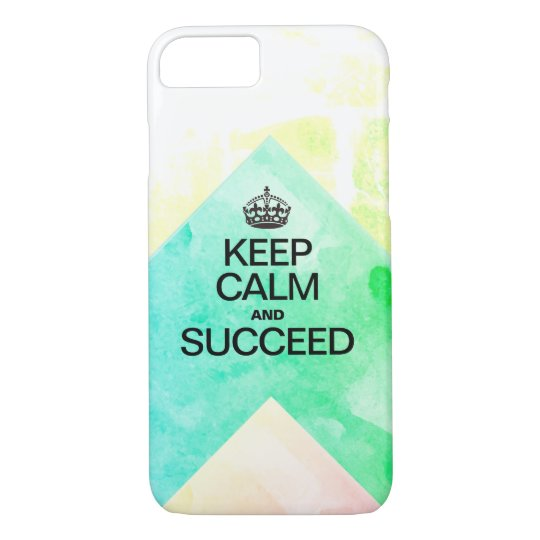 Succeed Colourful Watercolor Texture layers iPhone 8/7 Case