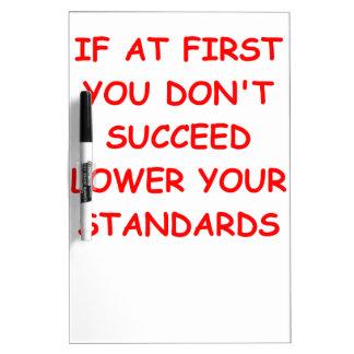 succeed Dry-Erase board