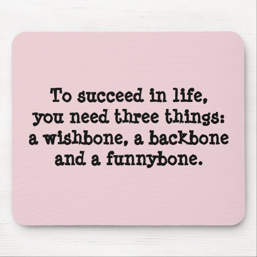 Succeed In Life Mousepad