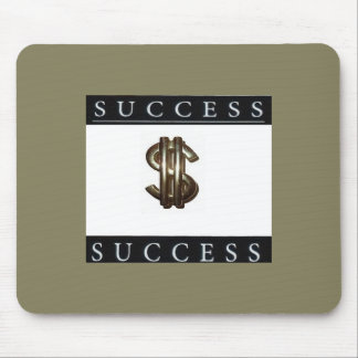 Success and Money Symbol Mousepad