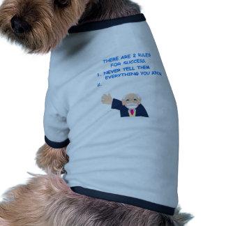 success doggie t shirt