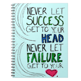 Success & Failure Notebook