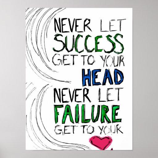 Success & Failure Poster