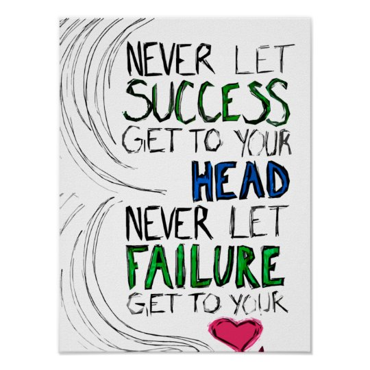 Success & Failure Poster