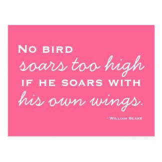 Success, Inspiration -  Motivational Postcard