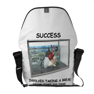 Success Involves Taking A Break Duke Snorkeling Commuter Bag